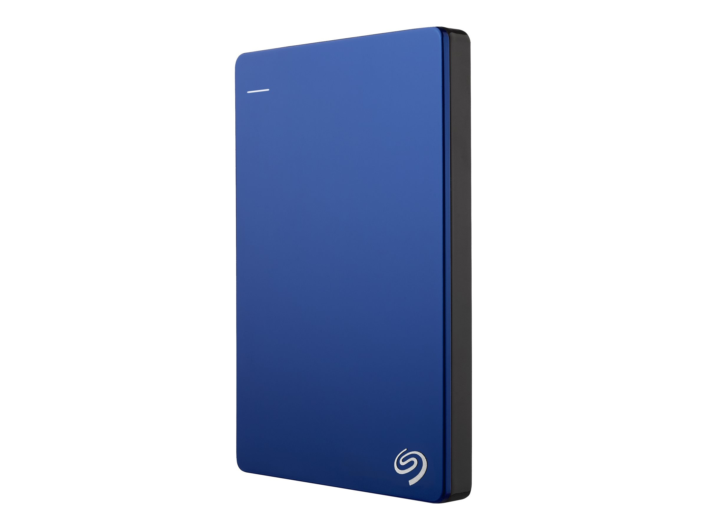 Seagate 1TB Backup Plus USB 3.0 Slim Portable Hard Drive - Blue, STDR1000102, 16573938, Hard Drives - External