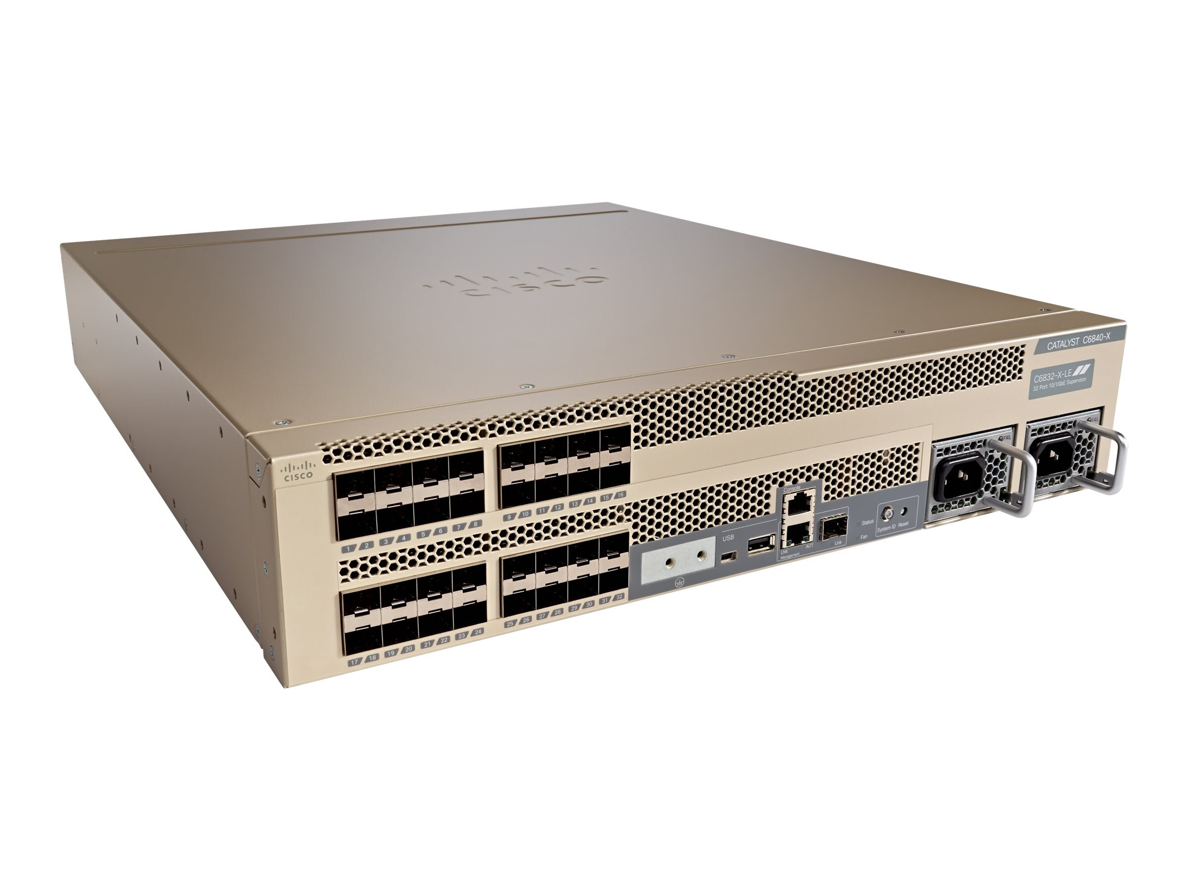 Cisco Catalyst 6832-X Chassis w Std Tables, C6832-X-LE, 30807201, Network Switches
