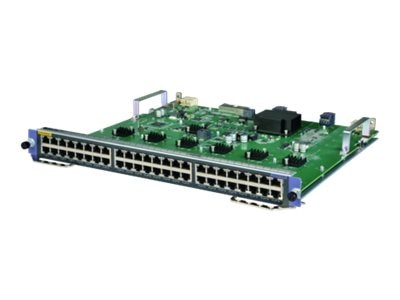 HPE HPE 10500 48-Port 1000BASE-T SE Expansion Module, JH200A, 31025059, Network Switches