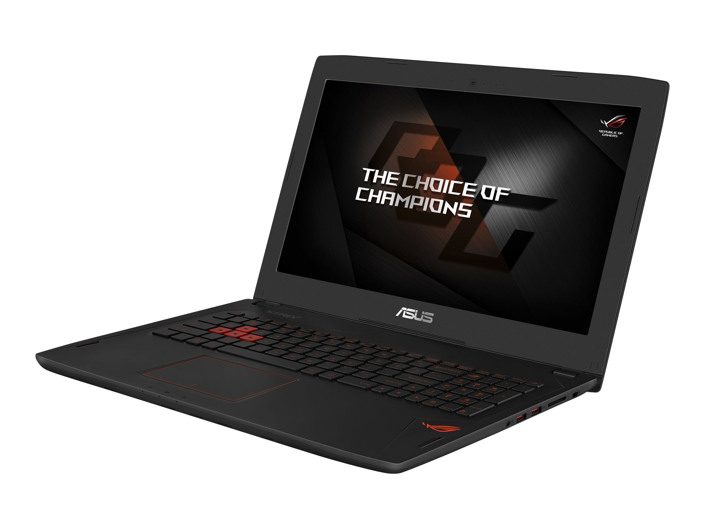 Asus ROG GL502VM-DB71 Core i7-6700Hq 2.6GHz 16GB 1TB ac GNIC BT WC GTX 1060 15.6 FHD W10-64