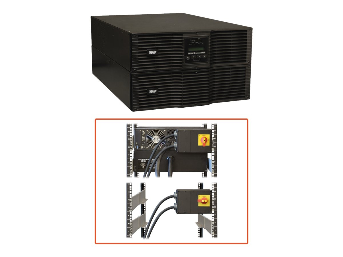 Tripp Lite Smart Online 10kVA Rackmount Tower UPS 10000VA, SU10KRT3U, 434046, Battery Backup/UPS