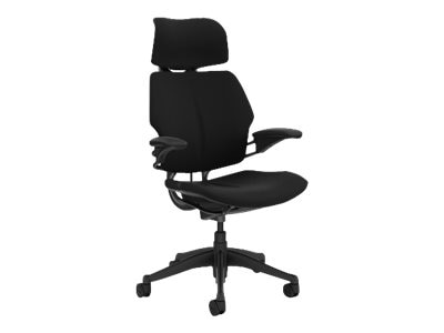 Humanscale FREEDOM HEADREST TASK CHAIR, LOTUS BLACK