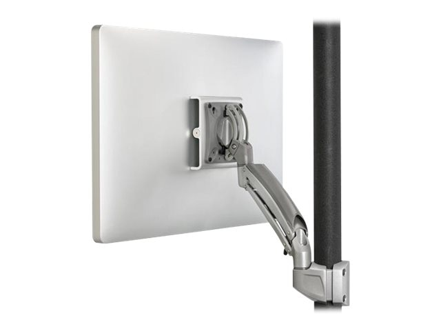 Chief Manufacturing Kontour K1P Dynamic Pole Mount, 1 Monitor - Silver (TAA Compliant)