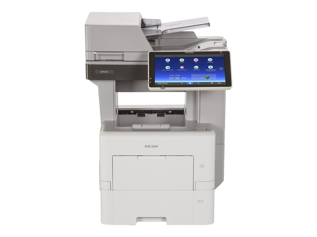 Ricoh MP 601SPF B&W Multifunction Laser Printer, 407812
