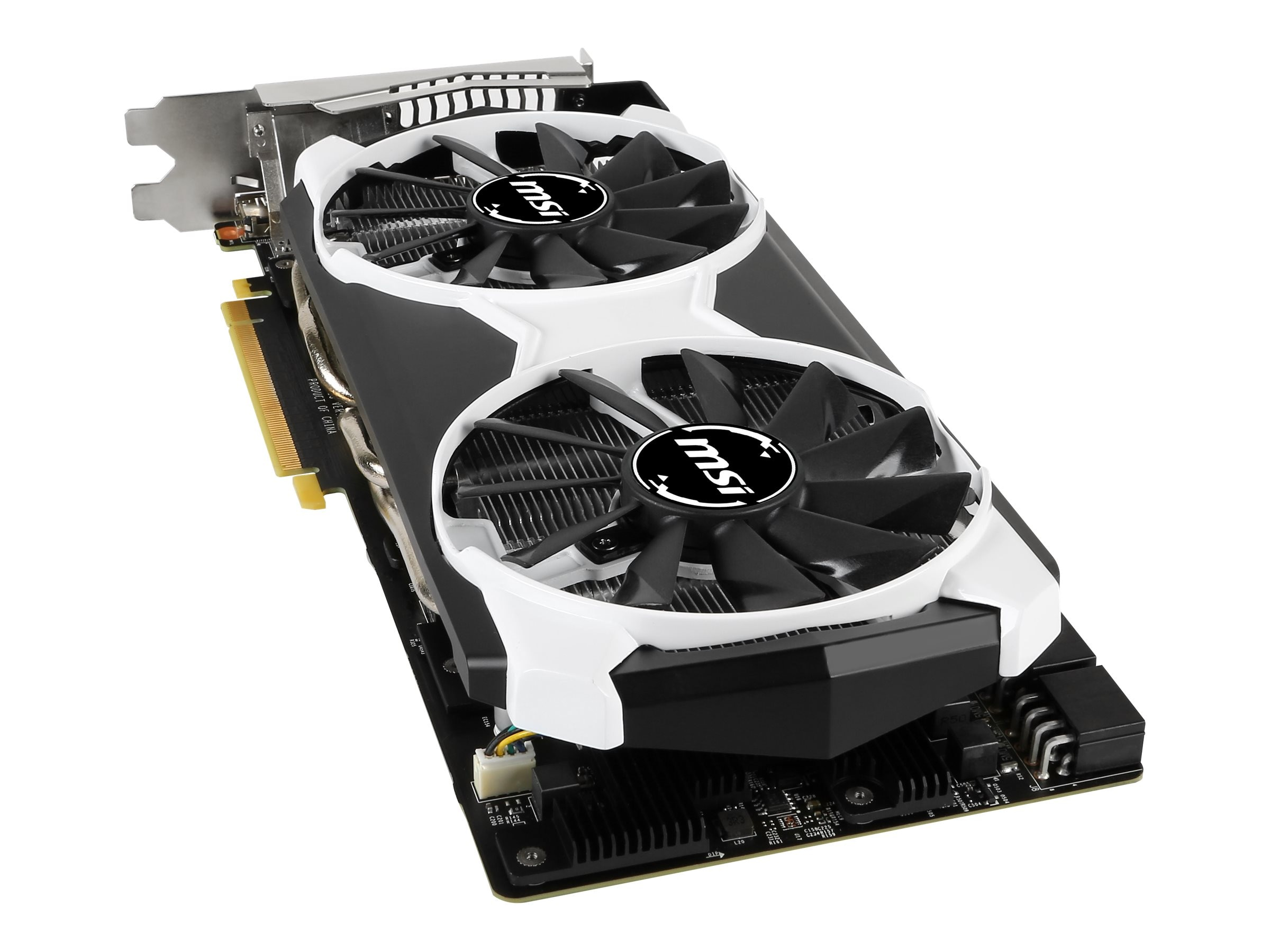 Microstar GeForce GTX 980 Ti PCIe 3.0 x16 Overclocked Graphics Card, 6GB GDDR5, GTX 980TI 6GD5T OC, 30623516, Graphics/Video Accelerators