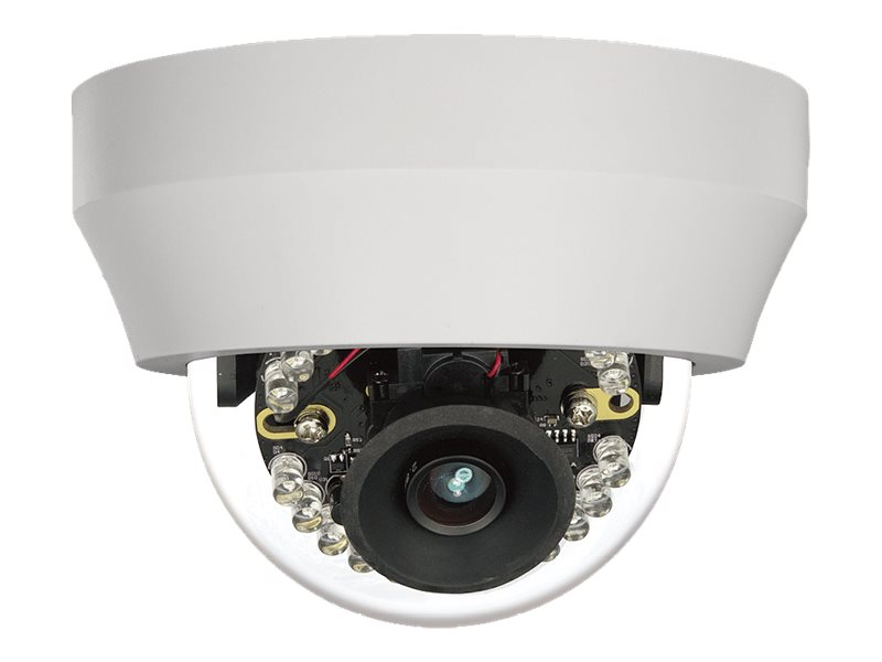 Toshiba 1080p Outdoor IP Dome with 2.8mm Lens, IKS-WR7412
