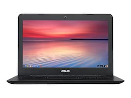 Asus C300SA Notebook PC Celeron N3060 1.6GHz 4GB 16GB 13.3 HD Black, C300SA-DH02, 33646879, Notebooks