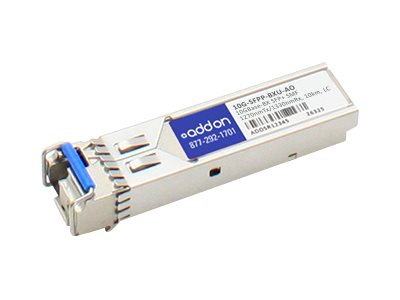 Add On 10GBASE-BX SFP+ For Brocade 1270TX 1330RX 10KM LC