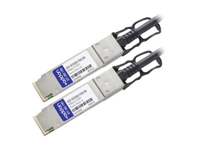 ACP-EP 40GBase-CU QSFP+ to QSFP+ Passive Twinax Direct Attach Cable, 3m
