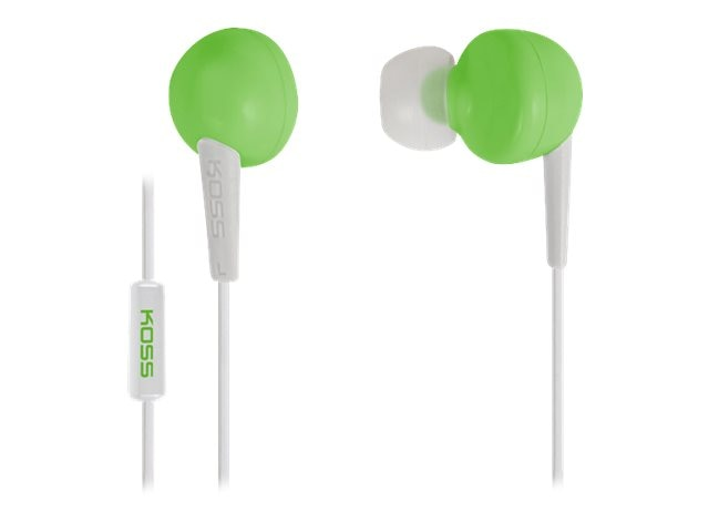 Koss Green Earbud, KEB6IG, 17804814, Headphones
