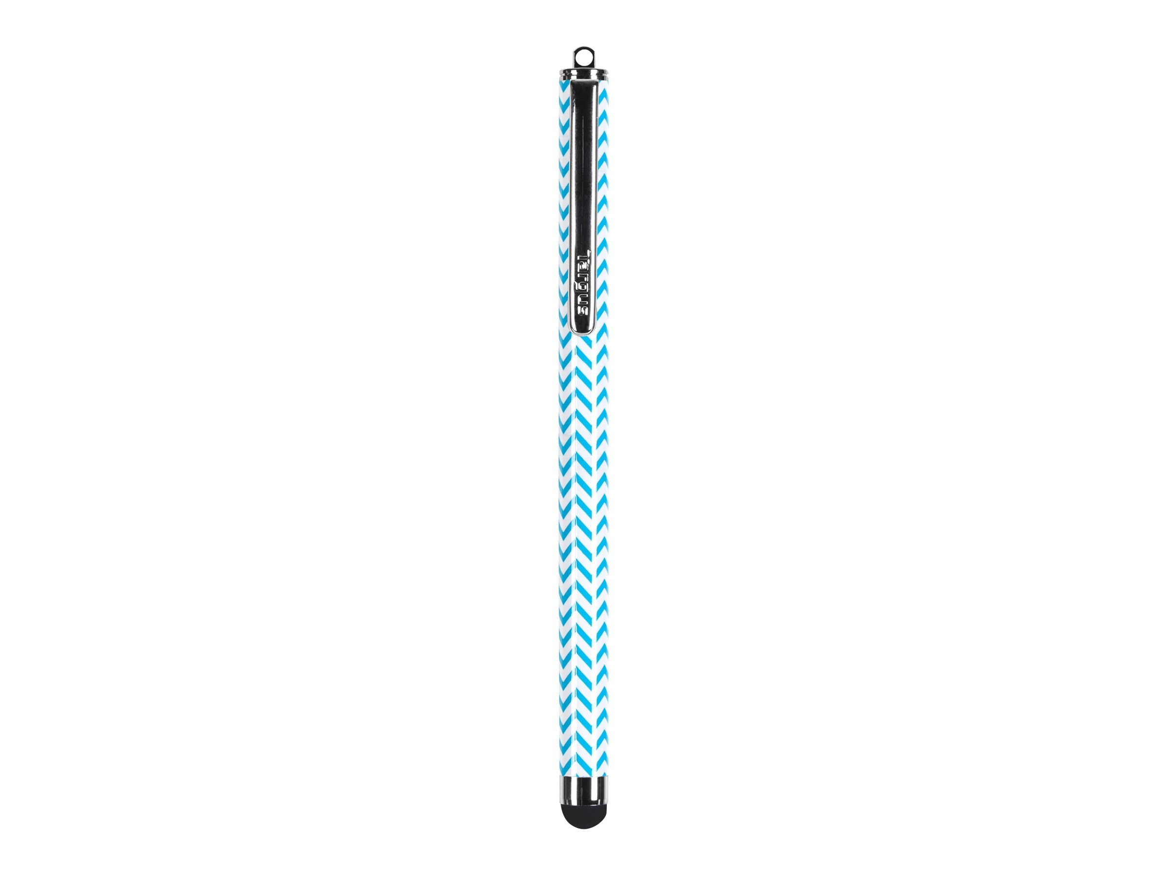 Targus Chevron Patterned Stylus, Blue, AMM01B23US