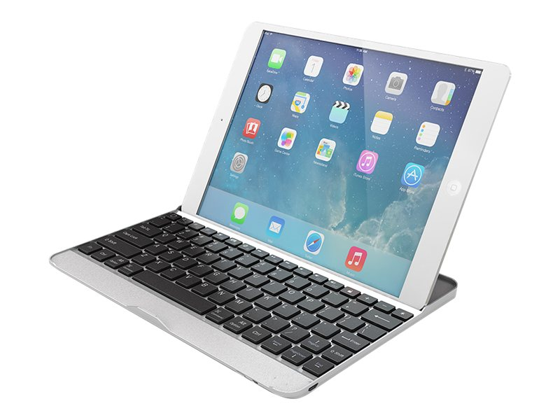 Kobian iPad Air Case w  Keyboard, IPAD5KBCS-SL, 24870158, Keyboards & Keypads