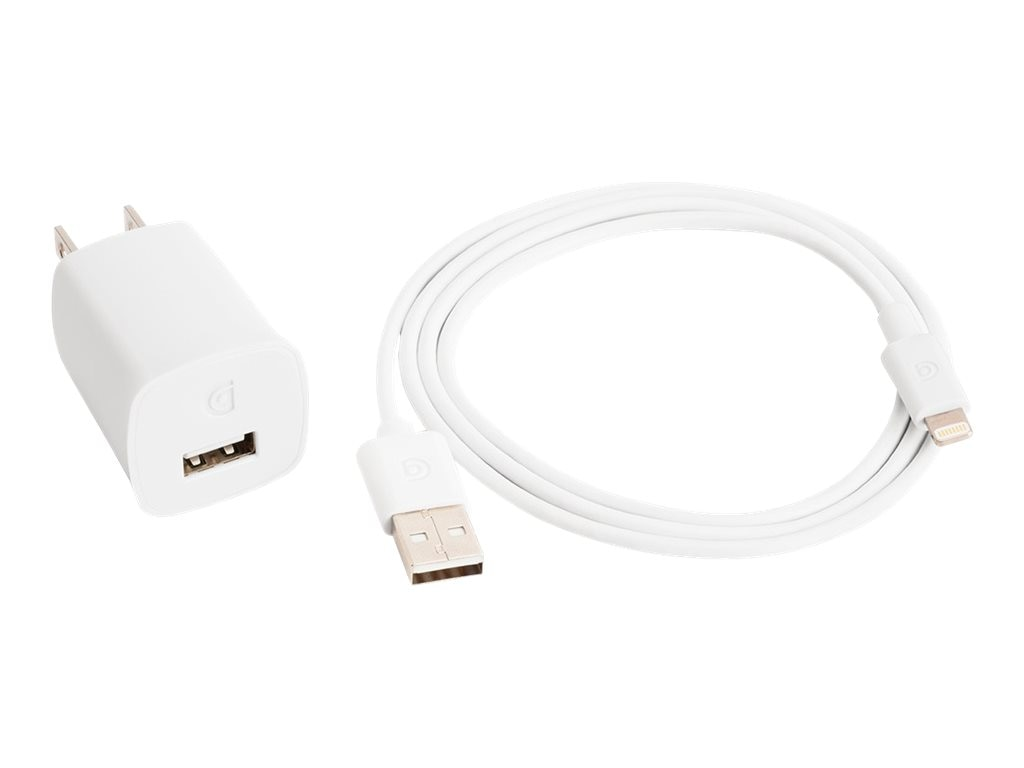 Griffin PowerBlock Wall Charger, White