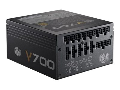 Cooler Master 700W Fully Modular ATX 12V V2.31 80+ Gold Active PFC 135mm Fan, RS700-AFBAG1-US, 15652079, Power Supply Units (internal)