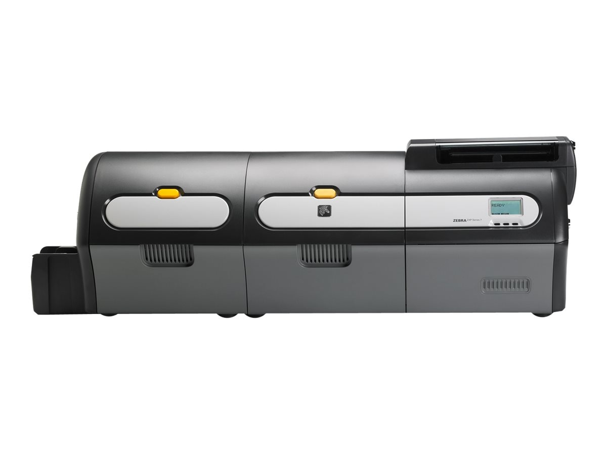 Zebra ZXP Series7 DS  DS USB Ethernet Laminator Printer w  Magnetic Encoder & Barcode, Z74-0M0C0B00US00, 18620734, Printers - Card