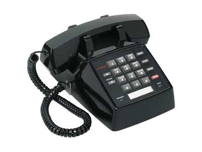 Avaya 2500 Analog Telephone, Single-Line, Black