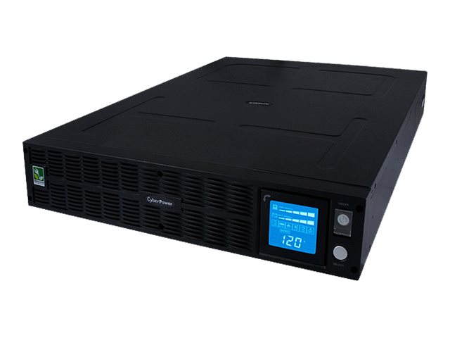 CyberPower UPS 3000VA 2400W Intelligent LCD Pure Sinewave, Line-interactive UPS TAA Compliant, PR3000LCDRTXL2UTAA, 14531128, Battery Backup/UPS