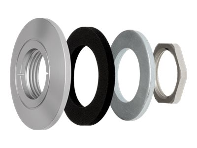 Axis F8212 Trim Ring for F1005-E F1035-E Sensor Units and P1214-E P1224-E Network Cameras, 10-Pack, 5507-111, 30870947, Mounting Hardware - Miscellaneous
