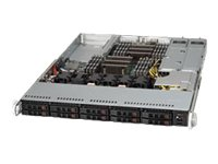 Supermicro SuperChassis 116AC 1U RM E-ATX (2x)Intel AMD Family 10x2.5 HS Bays 4xFans 2x700W, CSE-116AC-R700WB, 16128287, Cases - Systems/Servers