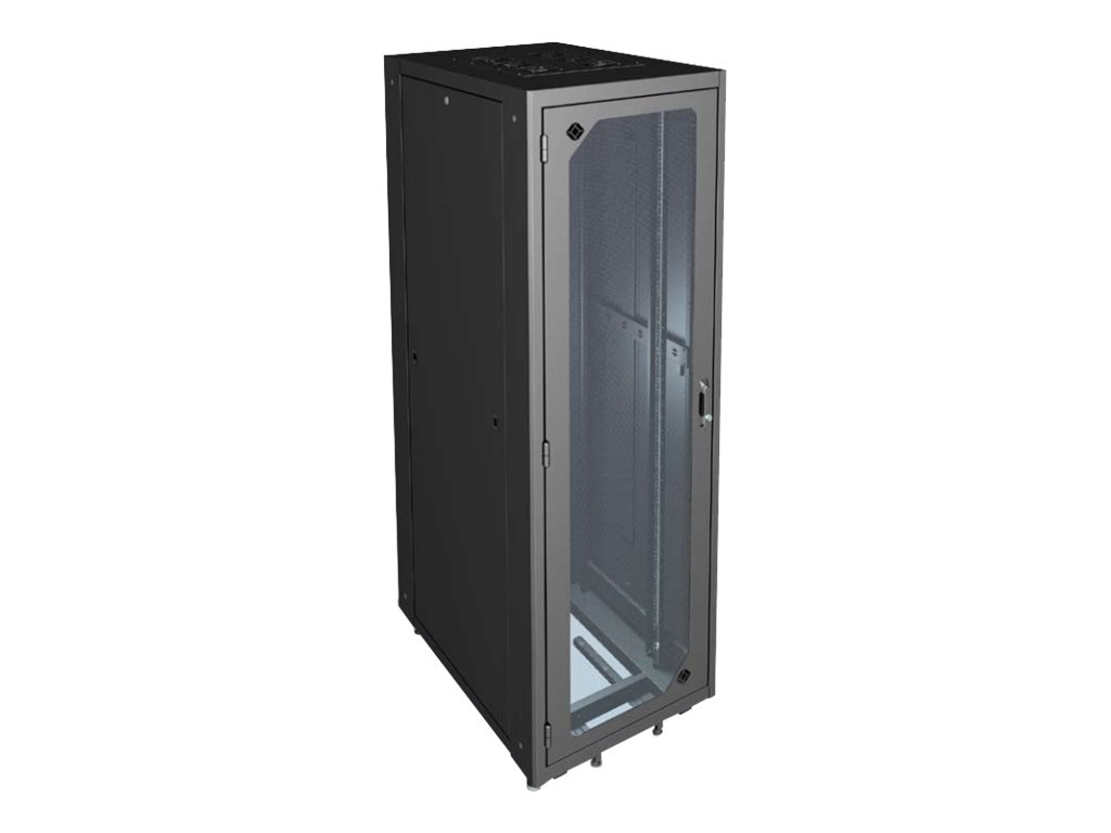 Black Box 45U Rack Elite Network Cabinet M6 Plexiglas Front
