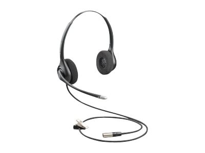 Plantronics SupraPlus HW261N-DC Dual-Channel Wideband Headset with 30in Cable, 86872-01