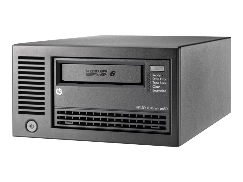 HPE StoreEver LTO-6 Ultrium 6650 External Tape Drive, EH964A, 15131548, Tape Drives