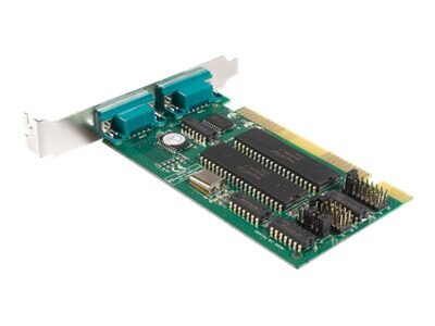 StarTech.com 2-Port ISA Serial I O Card Adapter 16C550 UART, Plug & Play (ISA2S550)