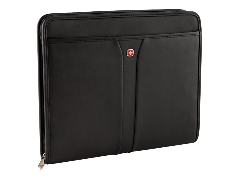 Wenger Swiss Gear Carina Binder Folio, Black, 65542020, 23729195, Carrying Cases - Other