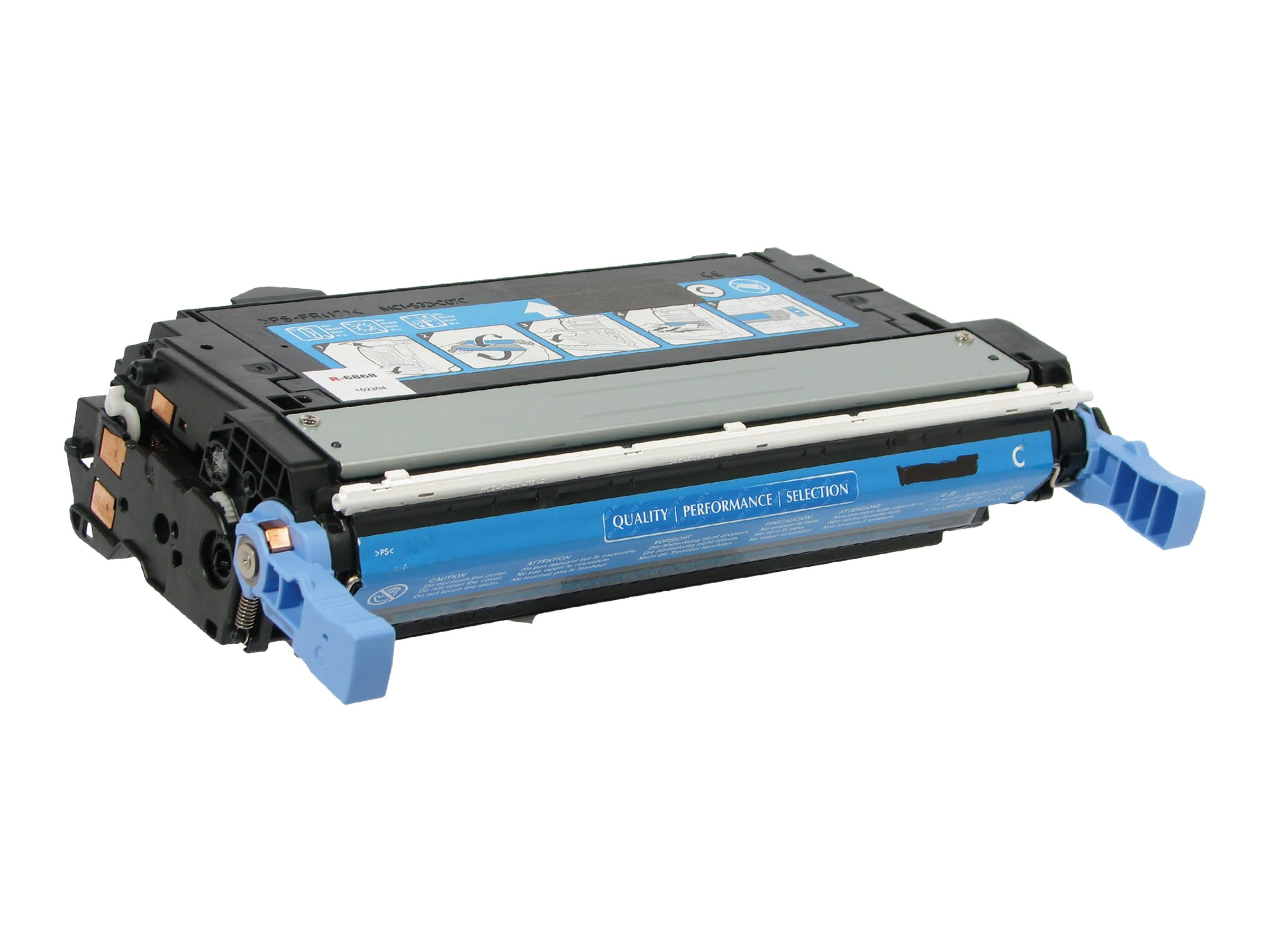 V7 Cyan Toner Cartridge for HP Color LaserJet 4600, V74600CG, 11056894, Toner and Imaging Components
