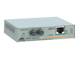 Allied Telesis Open Box FS201 2-Port FE Media Converting Switch w Universal Power, AT-FS201-60, 32623931, Network Switches