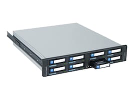 Open Box Tandberg Data RDX QuikStation 8-Drive 1GbE 2U Rackmount Storage, 8900-RDX, 30802936, Removable Drives