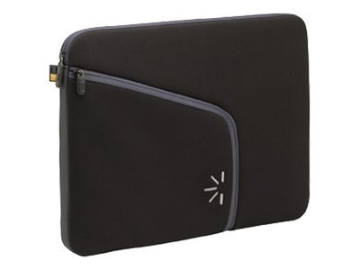 Case Logic 14.1 Laptop Sleeve, Black, PLS-14BLACK, 8497541, Protective & Dust Covers