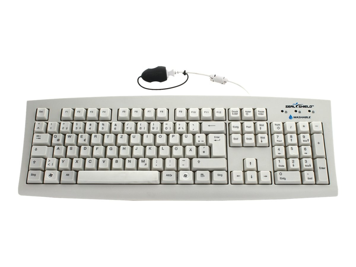 Seal Shield Silver Seal Medical Grade Keyboard (SSWKSV108ES), SSWKSV108ES, 10425125, Keyboards & Keypads