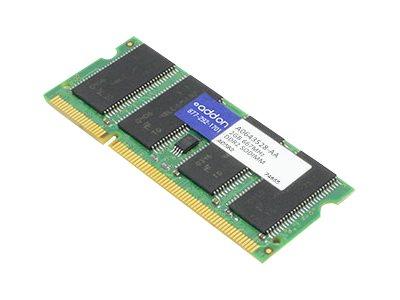 ACP-EP 2GB PC2-5300 200-pin DDR2 SDRAM SODIMM, A0643528-AA