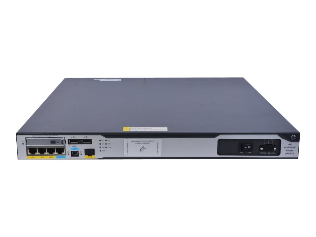 HPE MSR3024 DC Router