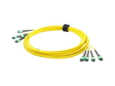 ACP-EP Fiber SMF Trunk 48 4MPO x 4MPO Female Type A OS1 Cable, 25m, ADD-TC-25M48-4MPF1