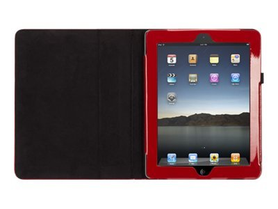 Griffin ElanFolio for iPad 2, Black, Red