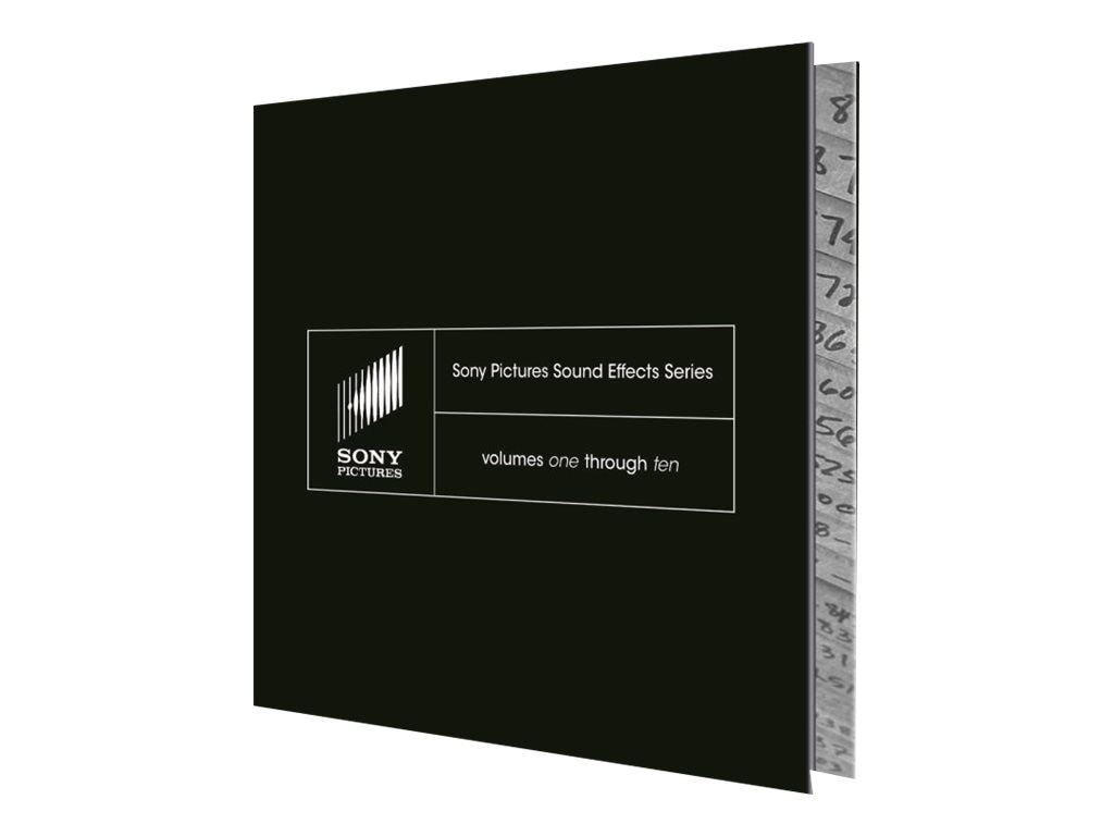 Sony Sony Pictures Sound Effects Series Volumes 1-10, SSDS3000, 6804034, Software - Video Editing