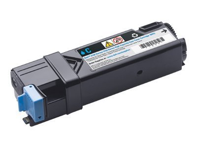 Dell Cyan High Yield Toner Cartridge for 2150CN & 2135CDN Printers