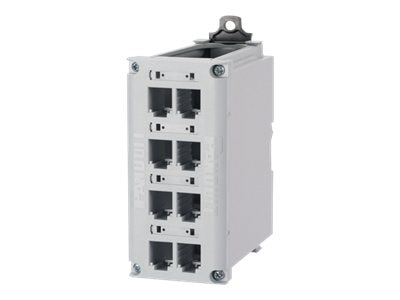 Panduit 8-Port DIN Rail Mount Copper Patch Panel