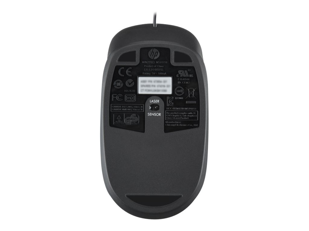 HP USB 1000dpi Laser Mouse, QY778AA