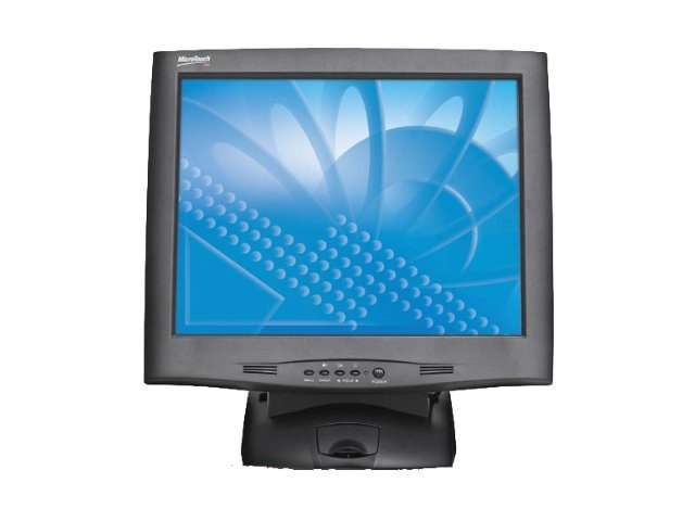 3M 17 M1700SS Touch LCD Monitor, Black, USB, 11-91378-225, 9660540, Monitors - LCD