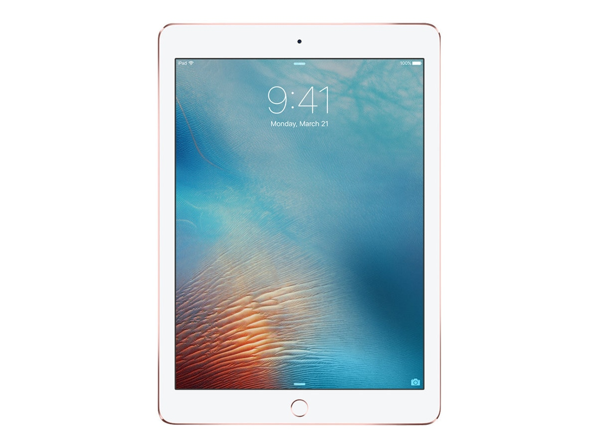 Apple iPad Pro 9.7, 32GB, Wi-Fi, Rose Gold, MM172LL/A