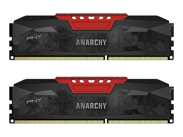PNY 8GB PC3-17000 240-pin DDR3 SDRAM DIMM Kit, MD8GK2D3213310AR-Z, 29830665, Memory