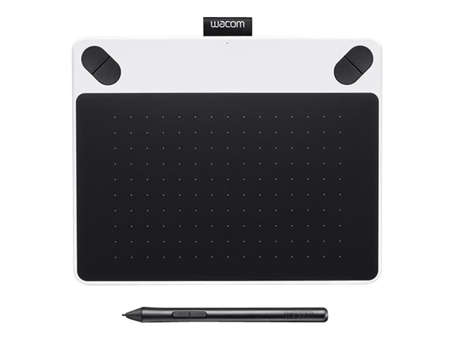 Wacom Intuos Draw Creative Pen Tablet, Small, White, CTL490DW