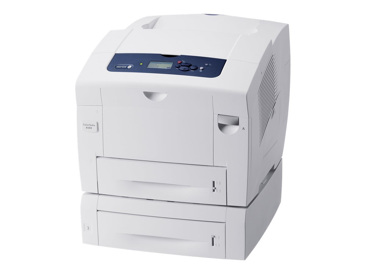 Xerox ColorQube 8580 DT Solid Ink Color Printer, 8580/DT, 18360768, Printers - Laser & LED (color)