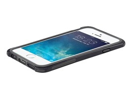 Macally Plastic Polycarbonate Case for iPhone 6, Black, IRONP6MB, 31175516, Carrying Cases - Phones/PDAs