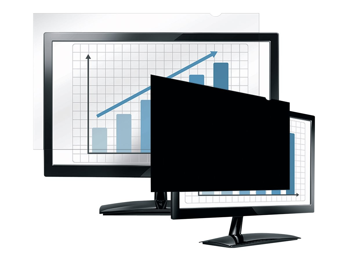 Fellowes 20.1 Widescreen Privacy Blackout Filter, 4801301, 9279386, Glare Filters & Privacy Screens