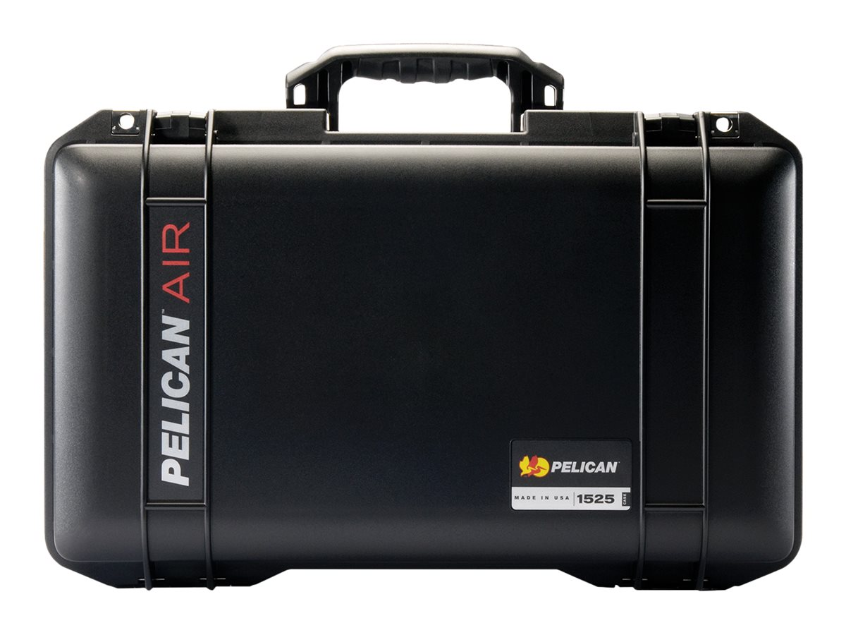 Pelican 1525AIR Case  w  Liner, w  Foam, Black