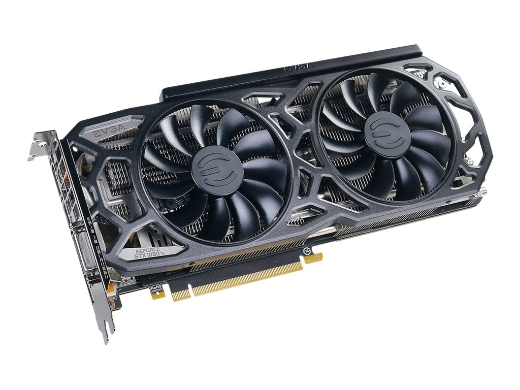 eVGA GeForce GTX1080Ti SC Black Gaming Accelertor, 11G-P4-6393-KR